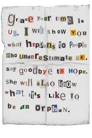 image ransom note png the 39 clues wiki fandom powered by wikia ransom note png