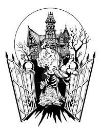spooky clip art spooky house halloween tattoo by iamrafsusername on deviantart
