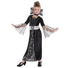 Gothic Halloween Costumes Girls Children Girls Wicked Vampire Witch Goth Spider Queen Halloween
