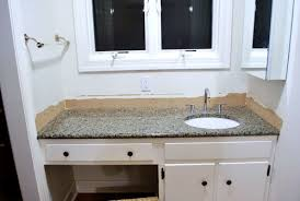 Removing The Side Splash  Backsplash From Our Bathroom Sink - Bathroom vanity top glue