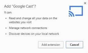 cast extension android kodi xbmc from windows pc to the chromecast kodi for