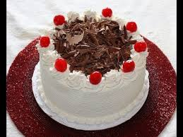 black forest cake recipe and decoration youtube