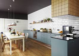 Tile Kitchen Countertops Subway Tile Kitchen Countertop Never Gets Old With Subway Tile