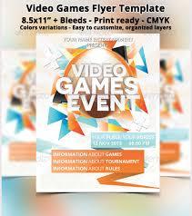 20 amazing online gaming flyer templates free u0026 premium templates