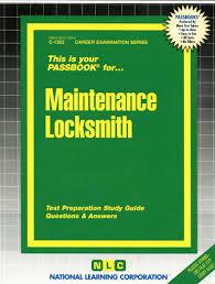 maintenance locksmith jack rudman amazon com mx libros