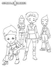 cartton network code lyoko warriors coloring pages batch coloring