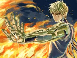 one punch man genos one punch man zerochan anime image board