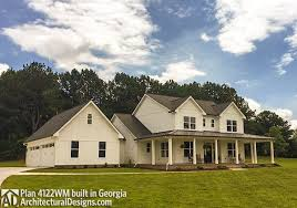 Architecturaldesigns Com by House Plan 4122wm Comes To Life In Georgia