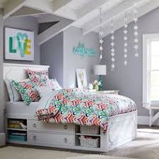 Teen Girls Room  Closet Reading Nook Updated Less Than - Girls bedroom colors