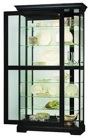 Curio Cabinet Amazon Com Howard Miller Tyler Ii Curio Display Cabinet Kitchen