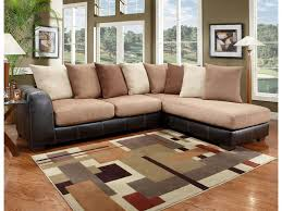 Sectional Sofa With Double Chaise Beautiful Two Piece Sectional Sofa With Chaise 93 About Remodel