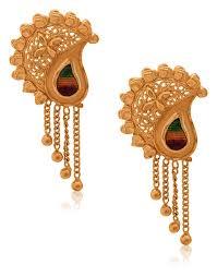 earring earring gold jewellery designs gold earring