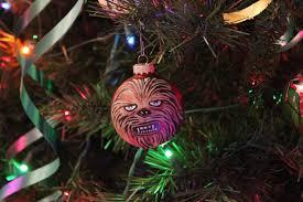 chewbacca custom tree ornament by r1venkassle on deviantart