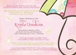 2nd baby shower ideas sprinkle pink printable shower invitation for 2nd or 3rd baby