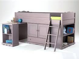 bureau lit mezzanine lit mezzanine pour enfant lit living single reboot cildt org