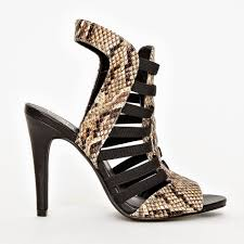 pick of the week snake gladiator sandals missguided styled