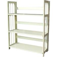 Stacking Bookcase Bookcase Get Quotations A 3 Tier Folding Bookcase White Folding