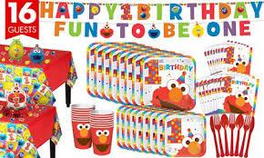 elmo party supplies elmo 1st birthday party supplies party city