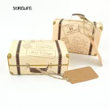 verpackung hochzeitsgeschenk 50 stücke kreative mini koffer pralinenschachtel süßigkeiten