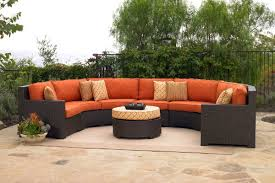 Patio Furniture Sectional Sets - furniture sectional patio furniture home depot outdoor furniture