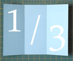 How To Fold Envelope Folding Paper Into Thirds 4 Steps