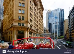 hop on hop sydney australia hop on hop tour sydney australia au new south wales stock