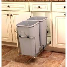 Kitchen Trash Bin Cabinet Trash Cabinet Pull Out Trash Cans Kitchen Cabinet Organizers The