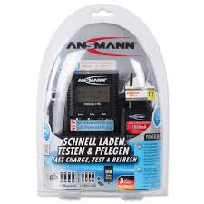 ansmann ag battery charger powerline 4 pro battery chargers