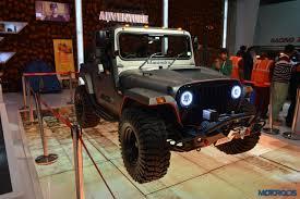 jeep india modified 2016 auto expo this modified mahindra thar looks like an ill