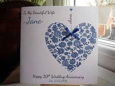 20th wedding anniversary ebay