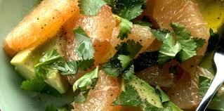 avocat cuisine salade d avocat au plemousse facile et pas cher recette sur