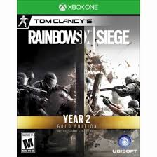 siege xbox one tom clancy s rainbow six siege gold year 2 edition includes