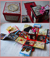 handmade theme based box greeting cards buy in india