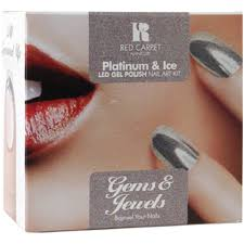 Red Carpet Gel Polish Pro Kit Red Carpet Manicure Gems U0026 Jewels Platinum U0026 Ice Kit X9 Piece