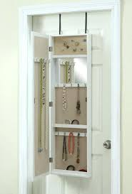 Jewelry Storage Cabinet Floor Mirror With Storage Mirror Jewelry Storage Cabinet Wall