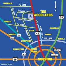 houston map convention center directions and parking home and gardening show the woodlands
