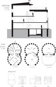 Philip Johnson Glass House Floor Plan by