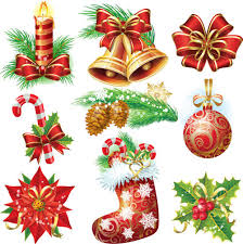 christmas baulbes decor illunstration vector vector christmas