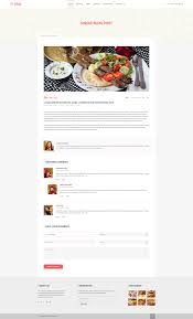 Medical Transcription Sample Shhaad One Page Restaurant Psd Template By Ui Expert Themeforest