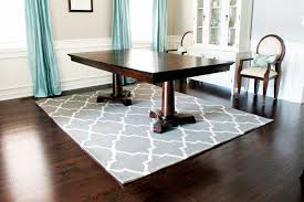 Dining Table On Rug  Dining Room Decor Ideas And Showcase Design - Dining room rug ideas