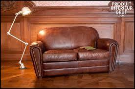 canapé cuir vieilli marron canapé cuir vieilli marron 7457 canapé idées