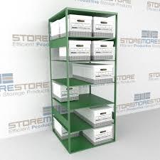 Narrow Storage Shelves by Filing Box Storage File Box Shelves Storing Record File Boxes