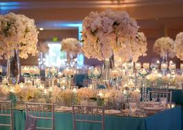 Elegant Centerpieces For Wedding by Wedding Reception Decoration Examples Wedding White And