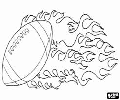 American Football Coloring Pages Printable Games 2