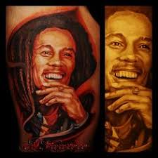 best bob marley tattoo ever ink me pinterest bob marley