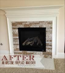interiors fabulous faux fireplace stone stone fireplace design