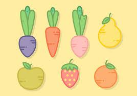 food vector fresh food free vector art 7755 free downloads