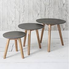 concrete and wood outdoor table luxury concrete wood furniture
