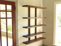 Wall Mounted Wooden Shelves by Living Room Wall Mounted Wood Shelving Units Throughout Hanging