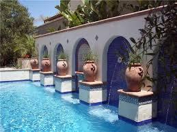 mediterranean backyard designs phenomenal backyards outstanding